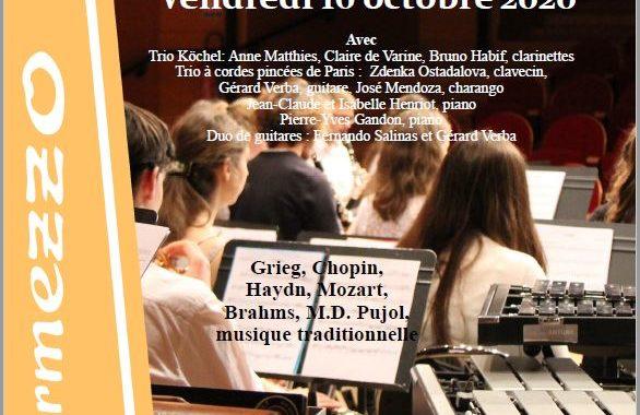 Concert Intermezzo Le 16 Octobre 2020